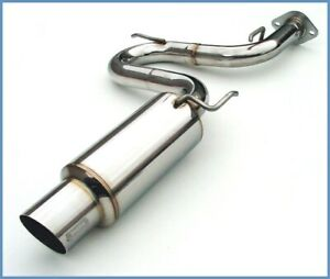 Invidia N1 Cat back Exhaust W S s Tip For 2000 2005 Toyota Celica Gt Gts