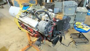 1978 Chevy Camaro Complete Running Engine 350 5 7 V8 Block 3970010 Read Below