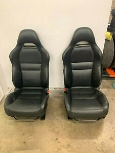 2002 2006 Acura Rsx Front Seats Pair Left Right Leather Oem 02 03 04 05 06