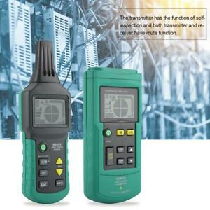 Ms6818 12 400v Lcd Cable Line Fault Locator Tester Meter Receiver