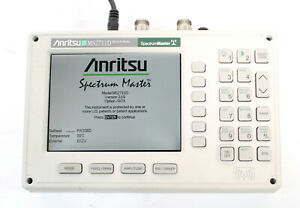 Anritsu Ms2711d Color Portable Rf Spectrum Analyzer 100khz To 3ghz New Battery