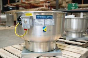 Commercial Restaurant Kitchen Exhaust Fan 1000 1500 Cfm With Speed Control