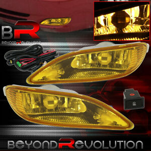 For Toyota Corolla 2005 2008 Camry 2002 2004 Yellow Bottom Fog Lights Switch Set