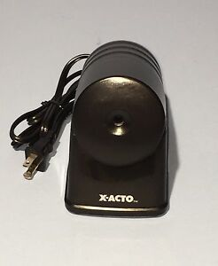 X acto Powerhouse Electric Pencil Sharpener Model 179x Black
