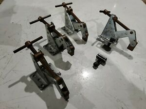 Lot Of 4 Kant Twist Clamps Work Holding 3f Welding Table Mill Table Clamp