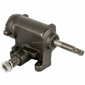 For Chevy Gmc Dodge Plymouth Truck Van Suv New Manual Steering Gear Box