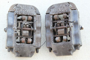 Audi Q7 Porsche Cayenne Vw Touareg Rear Brembo Brake Calipers Oem Factory