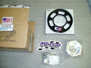 99 04 Lightning Metco Interchangeable Supercharger Lower Crank Pulley Kit 4lb 4