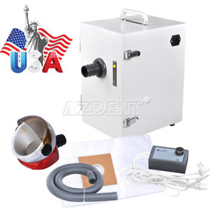 Dental Industry Digital Single row Dust Collector Vacuum Cleaner Suction Base