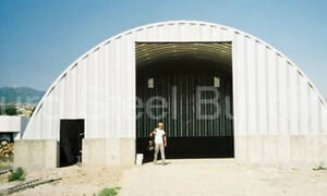Durospan Steel 60x114x20 Metal Quonset Hut Structure Diy Home Ag Building Direct