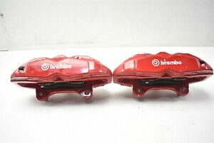 2009 2012 Hyundai Genesis Coupe Front Brembo Brake Caliper Pair Calipers 09 12