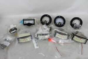 9 Vintage New Used Gauge Kilovolts D c Volts Kilowatts Degrees Model 231 Dv