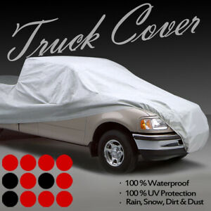 Cadillac Escalade Ext Crew Cab Waterproof 4 Layer Truck Car Cover 8 Ft Long Bed