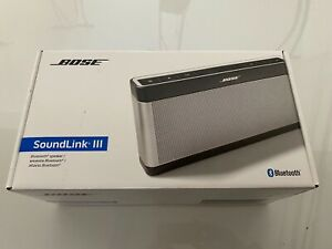 Bose Soundlink III 3 Bluetooth Wireless Speaker - Silver - New