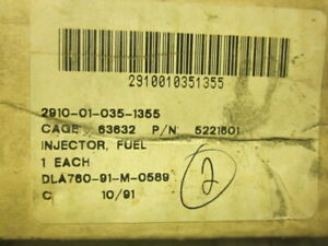 Delphi Injector Used On 30kw Military Generators 5221601