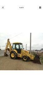 Ford New Holland 4wd Back Hoe