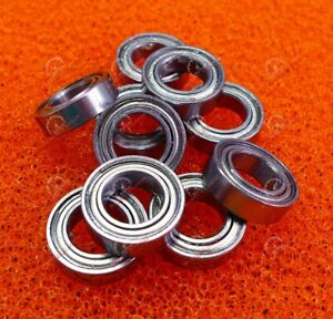 20 Pcs 6701zz Width 5mm 12x18x5 Mm Chrome Metal Shielded Ball Bearings