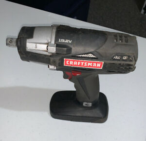 Craftsman 1 2 Inch Cordless Impact Wrench With Battery Charger