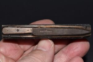 Rare Antique Printer s Block Of A George Wolstenholm Ixl Kitchen Carving Knife