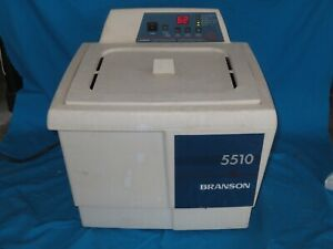 Branson 5510r dth Ultrasonic Cleaner With Basket And Shut Off Valve