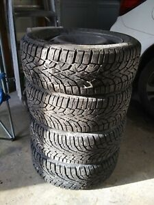 General Snow Winter Tires 205 55 16 With Steel Wheels 5x100 16
