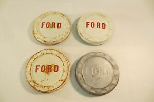1960 s Ford F100 Pickup Truck Poverty Bottlecap Dog Dish Hub Caps Wheel Covers