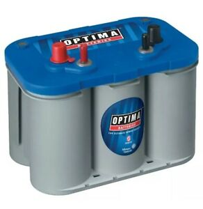 Optima D34m 8016 103 12 Volt Blue Top Starting And Deep Cycle Marine 870 Amps