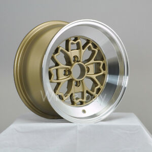 4 Rota Wheel Aleica 15x8 4x100 15 Royal Gold Miata Xa Xb Vw Mr2 Last Set