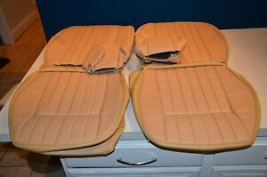 Jaguar Xke Series 3 Seat Leather Covers And Headrest Leather Console Biscuit