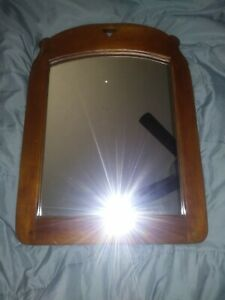 Vintage 1950 S Cushman Colonial Creations Rock Maple Wall Mirror Bennington Vt