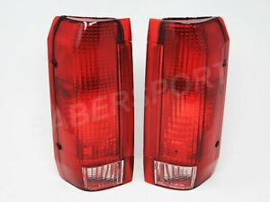Pair Replacement Taillights For 1989 1996 Ford F 150 F 250 F 350 Bronco