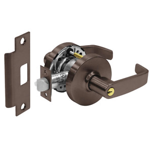 Sargent 28 10g04 Ll 10b Oil Rubbed Bronze Cylindrical Lock Key Lever Handleset