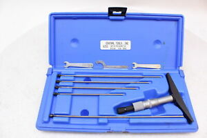 Central Tools 6251 Depth Micrometer Set 0 6in 4in Base Blue Hard Case
