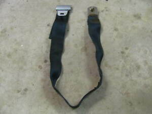 Gm Blue Rear Seat Lap Belt 442 Gto Chevelle 1968 72