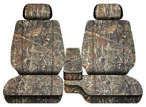 Car Seat Covers Camo Wetland Fits Toyota Tacoma 2001 2004 Front Bench 60 40 2hr