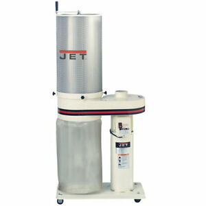 Jet 708642ck 1hp 650cfm Dust Collector With 1 Micron Canister Filter