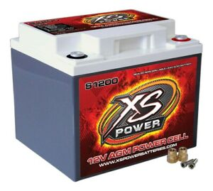 Xs Power Battery 725 Cranking Amps 12 V S Series Agm Battery P N S1200
