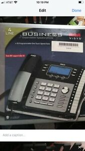 Rca Visys 25423re1 Phone System 4 Line Business Expandable System Office