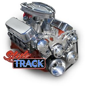 Chevy Big Block Pulleys Kit March Performance Style Track all Inclusive