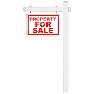 6 Upvc Real Estate Sign Post Open House Yard Home Room White W stake
