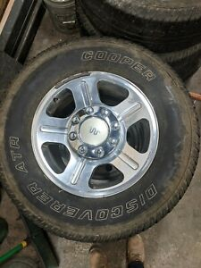 2005 2010 Ford F250 King Ranch Wheels And Tires 8x18 Lug Pattern Set Of 4