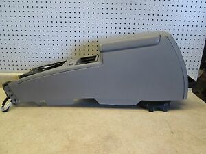 06 07 Cadillac Sts Center Console Storage Compartment Complete Assembly