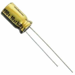 2 Pcs Nichicon 10uf 100v Fw Series Audio Electrolytic Capacitor Usa Seller