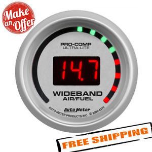 Auto Meter 4379 Ultra Lite Wide Band Air Fuel Ratio Kit
