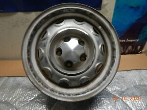 Vintage Oem 14 X 5 5 Mopar Rally Wheel 5 On 4 1 2 Dodge Plymouth Steel Rim Cap