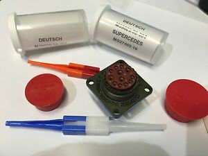D38999 40wd97pa Mil spec Connector With Contacts By Deutsch