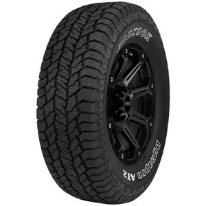 2 255 70r16 Hankook Dynapro At2 Rf11 111t B 4 Ply White Letter Tires