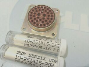 Jt02re20 39p Mil spec connector With Contacts