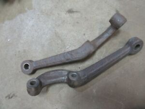 1951 1952 Pontiac Eight Front Stock Spindle Steering Arm Pair Hot Rod Rat Rod