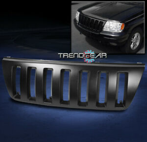 For 1999 2004 Jeep Grand Cherokee Sport Front Grille Grill Insert Abs Black